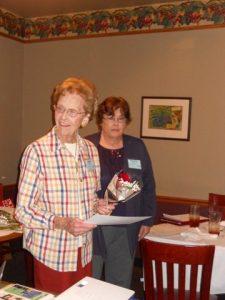 Named gift honoree Lillian