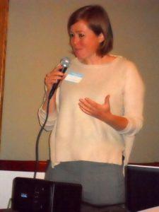 Guest speaker Dr. Molly Metzger