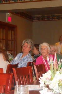Joyce and Virginia at May Luncheon
